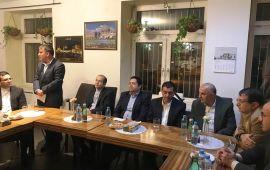 حضور هیئت تجاری اقتصادی کهگیلویه و بویراحمد در اسلواکی/ دیدار با ایرانیان مقیم اسلواکی + گزارش تصویری
