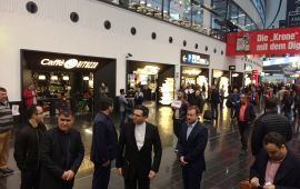 هیئت تجاری اقتصادی اتاق بازرگانی یاسوج وارد براتیسلاوا پایتخت اسلواکی شد.