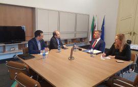 دیدار سفیر جمهوری اسلامی ایران با معاون نخست وزیر اسلواکی