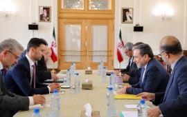 دیدار معاون سیاسی وزیر خارجه ایران با معاون وزیر خارجه اسلواکی